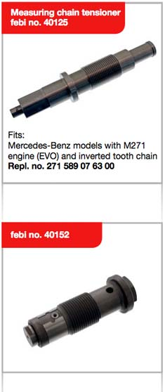 Want to test the chain drive of Mercedes-Benz models with M271