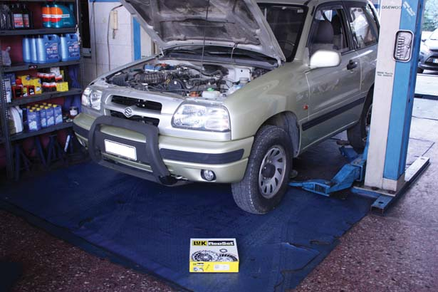 LuK clutch clinic – Suzuki Grand Vitara 1 6 petrol | techtalk ie